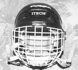 how to put a throat guard on a lacrosse helmet